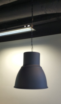 Lampa metalowa antracyt